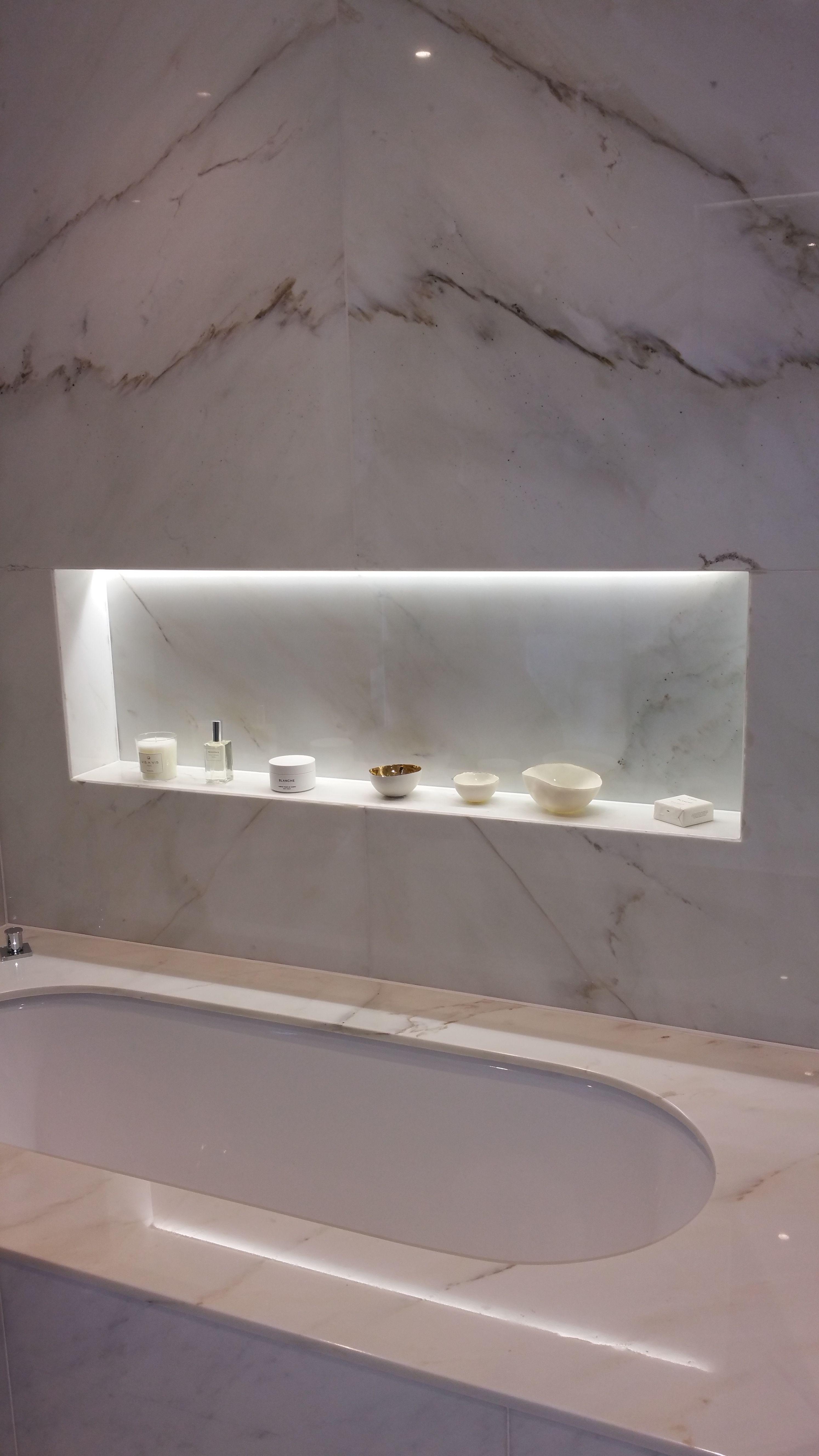 Illuminated Bathroom Niche Bathroom Niche Bathroom Bathroom Mirror