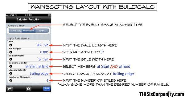 App To Help Calculate Wainscoting Layouts On Your Wall Coffered Ceiling Coffered Ceiling Design Wainscoting
