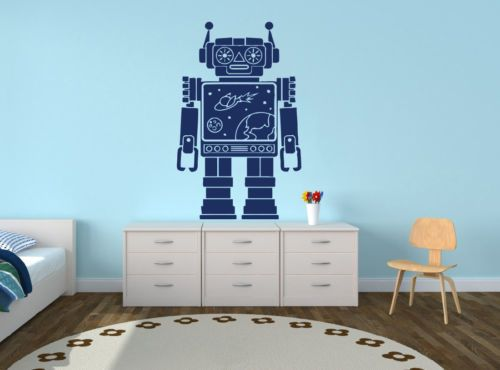 Babykamer Behang Stickers : Walltastic room decor kit muurstickers ruimte space adventure