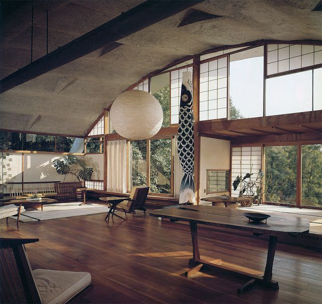 George Nakashima Japanese Architecture Aesthetics Pinterest