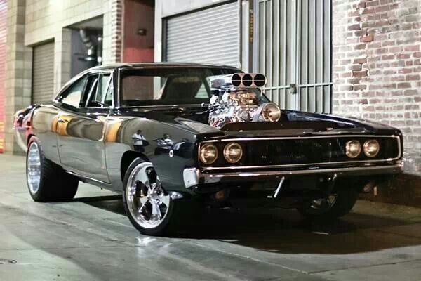 Vin Diesel S Charger From The Fast And The Furious Muscle Cars