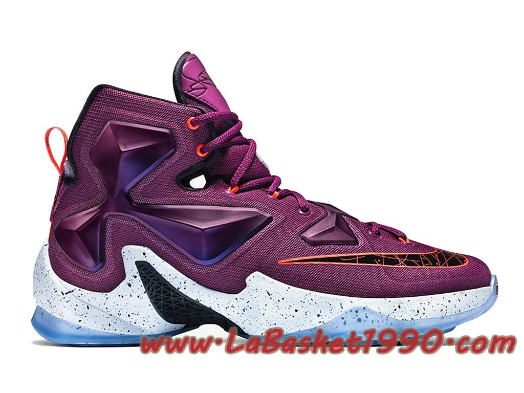 Nike Lebron 13 Written In The Stars 807219-500 Chaussures NIke Basket Pas  Cher Pour