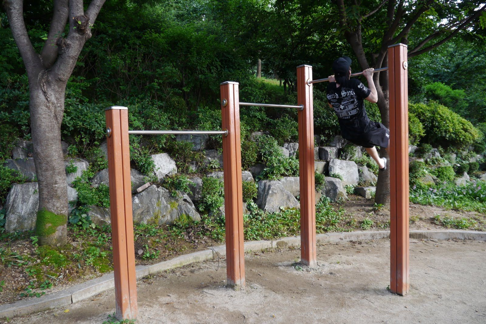Do we have room for a pull up bar? | Outdoor pull up bar ...