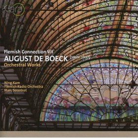 August de Boeck's music deserves to be more widely known. The violin concerto is superb. This selection is beautifully performed and well worth the purchase.