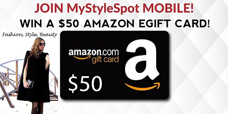 Giveaway Win A 50 Amazon Gift Card By Signing Up For My New Text Newsletter Simply Text Stylespot To Amazon Gift Card Free Amazon Gift Cards Amazon Gifts