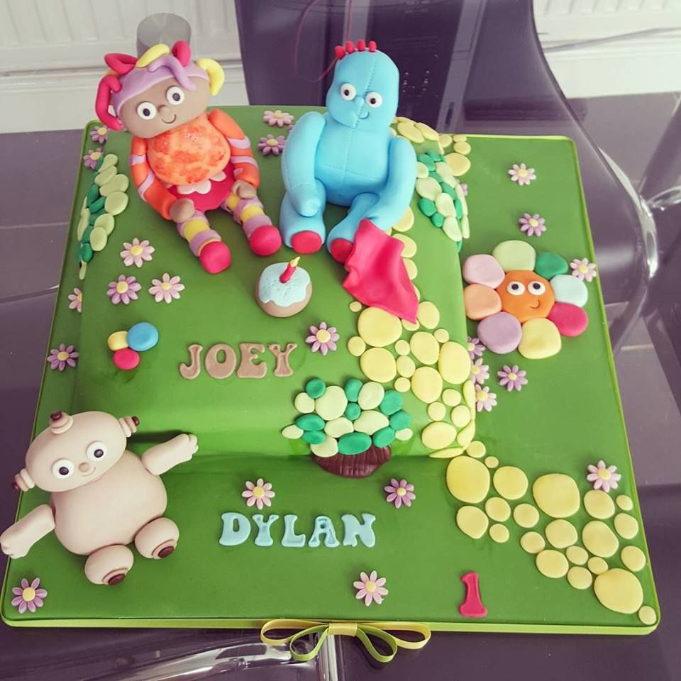 In the night garden 1st birthday cake by Kerry Marks Craft Company