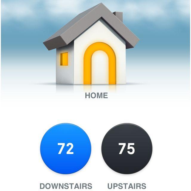 Nest thermostat app. Tech logos