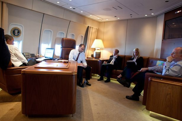 With David Cameron about to take a trip on Air Force One ...