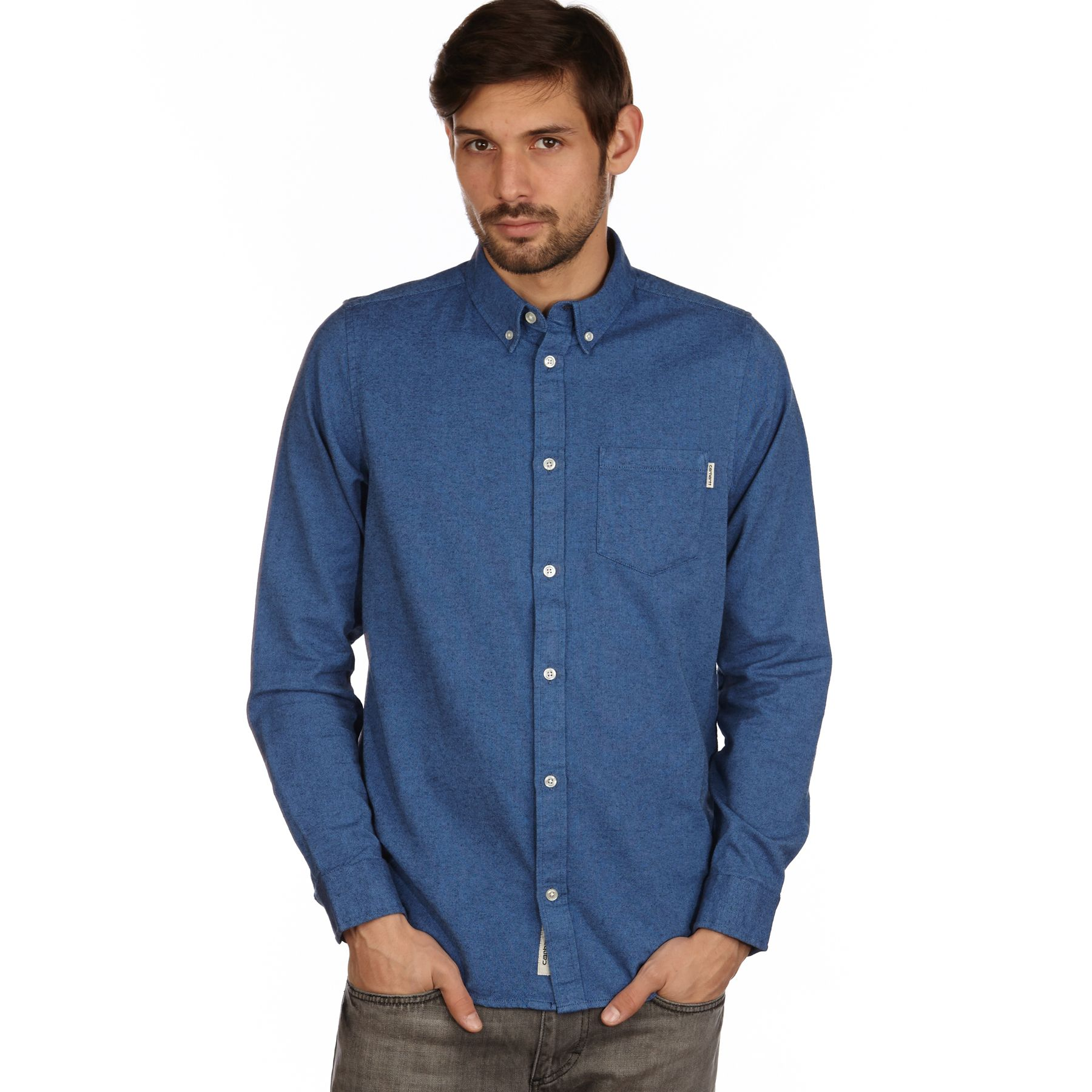 CARHARTT L/S Dalton Shirt #backyardshop