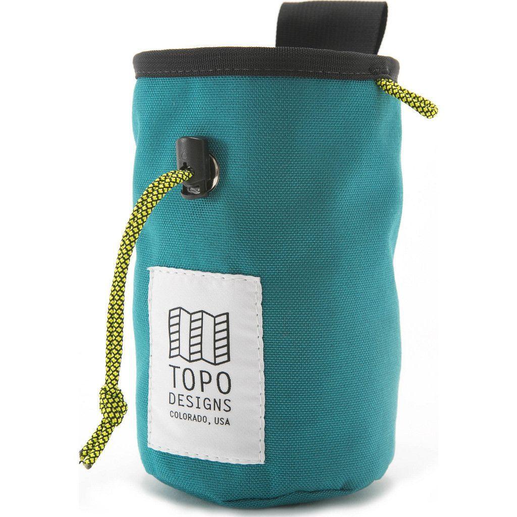 Topo Designs Chalk Bag | Turquoise
