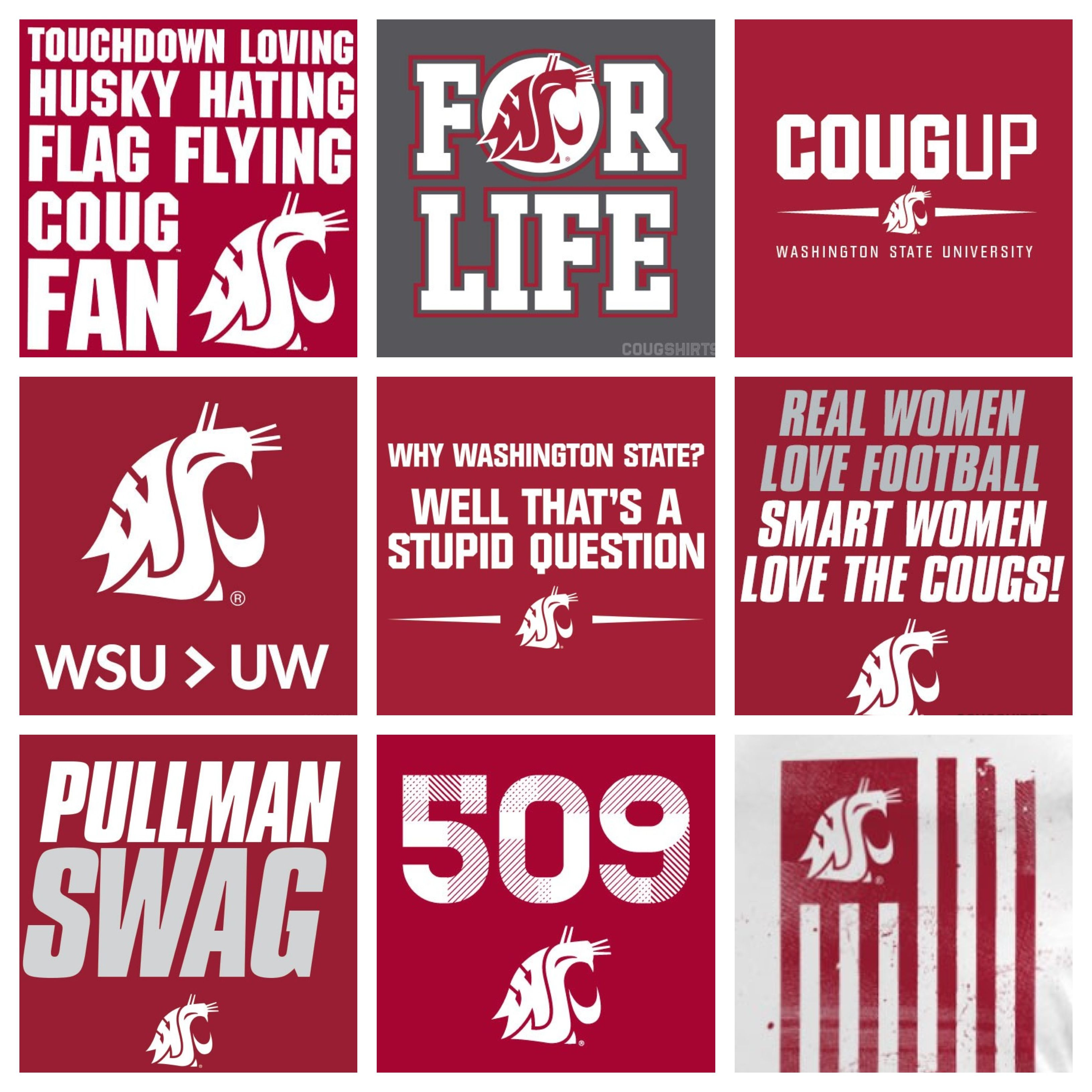 Pin By Cougshirts On Cougshirts Wsu Wsu Cougars Wsu Cougs