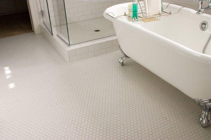1940's Bathroom  Nice 1940's Throwback Bathroom Floor Done New 1940 Bathroom Design Decorating Inspiration