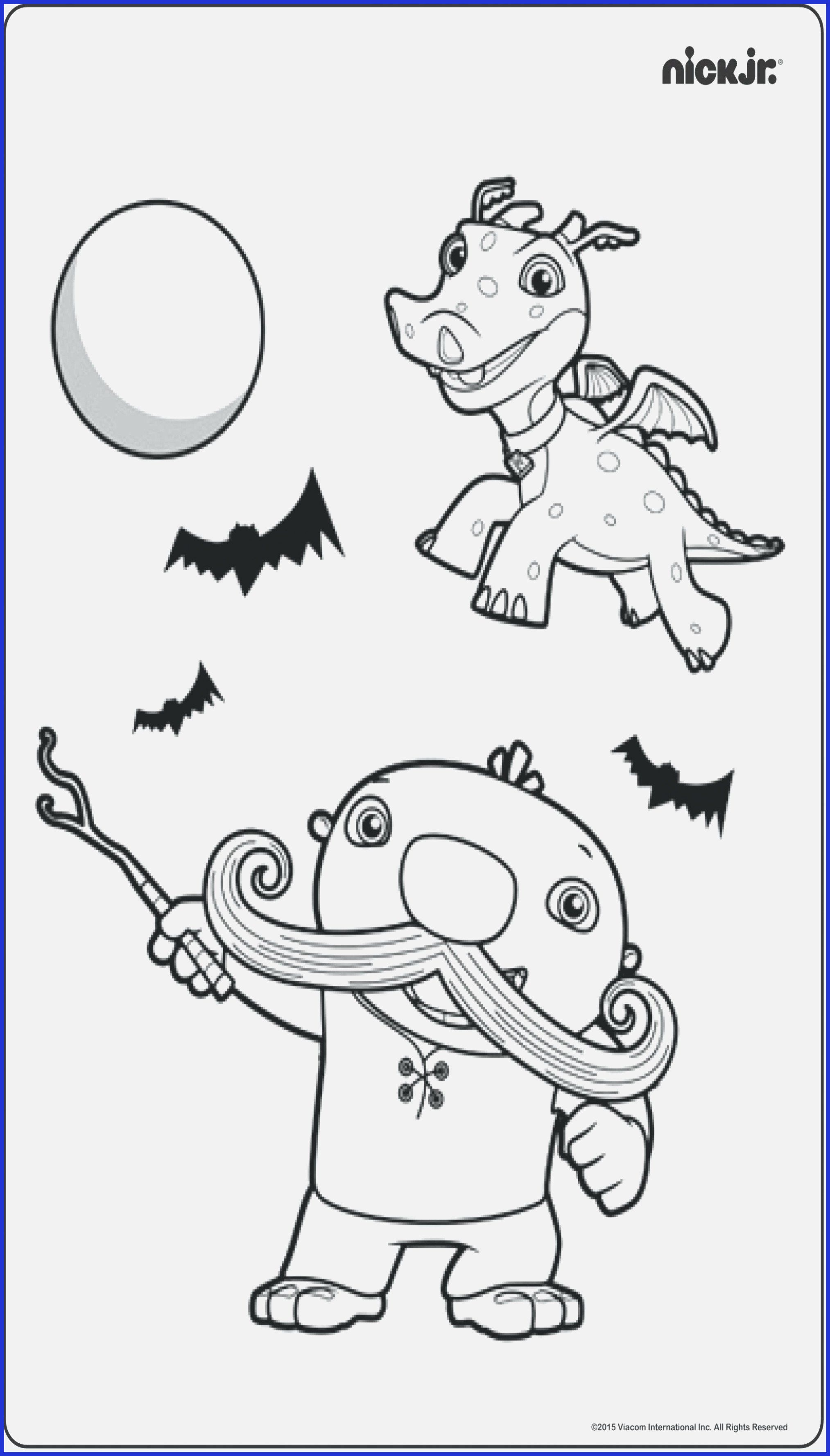 Nick Jr Coloring Pages - GetColoringPages.com | 3555x2027