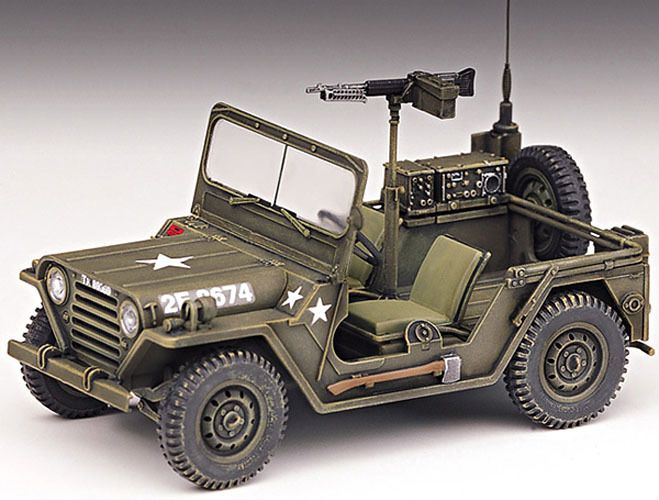 stylecolorful new 1 35 m 151a1 light utility truck academy model kit military jeep u s. Black Bedroom Furniture Sets. Home Design Ideas