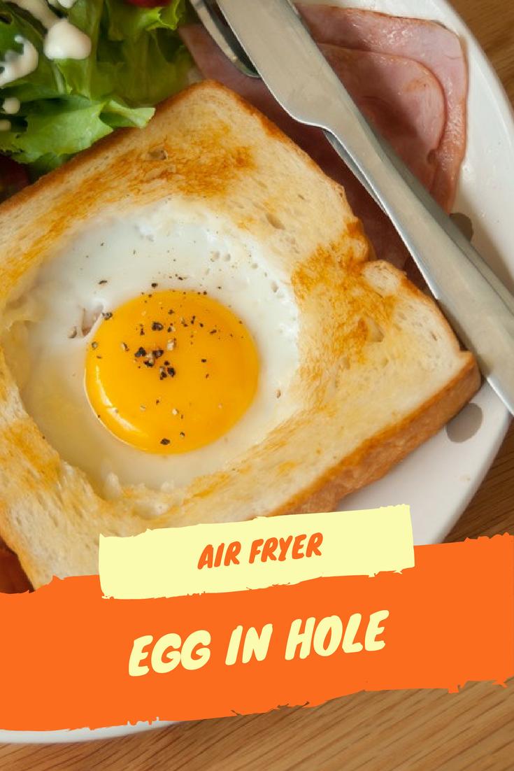 Air FryerEgg in Hole Recipe Recipes, Yummy breakfast