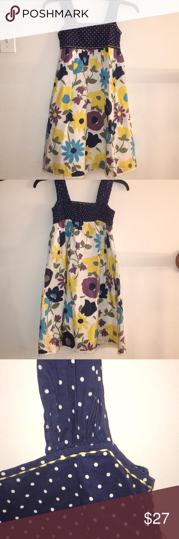 Mini boden flowerpolka dot dress mini boden boden and minis