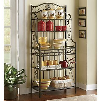 Fleur De Lis Bakers Rack From Through The Country Door Bakers