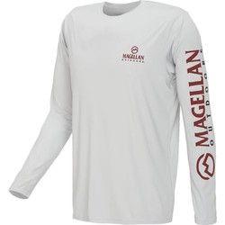 Academy - Magellan Outdoors™ Men's Casting Crew Moisture Management Long  Sleeve T-shirt
