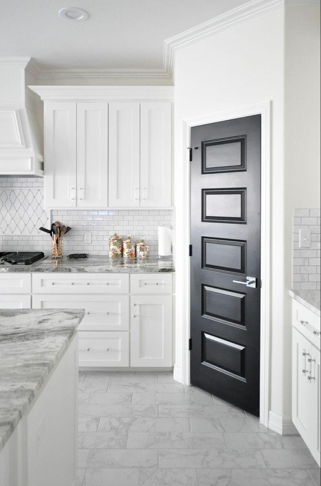 Living with Black Interior Doors: 6 Month Update | Shaker ...
