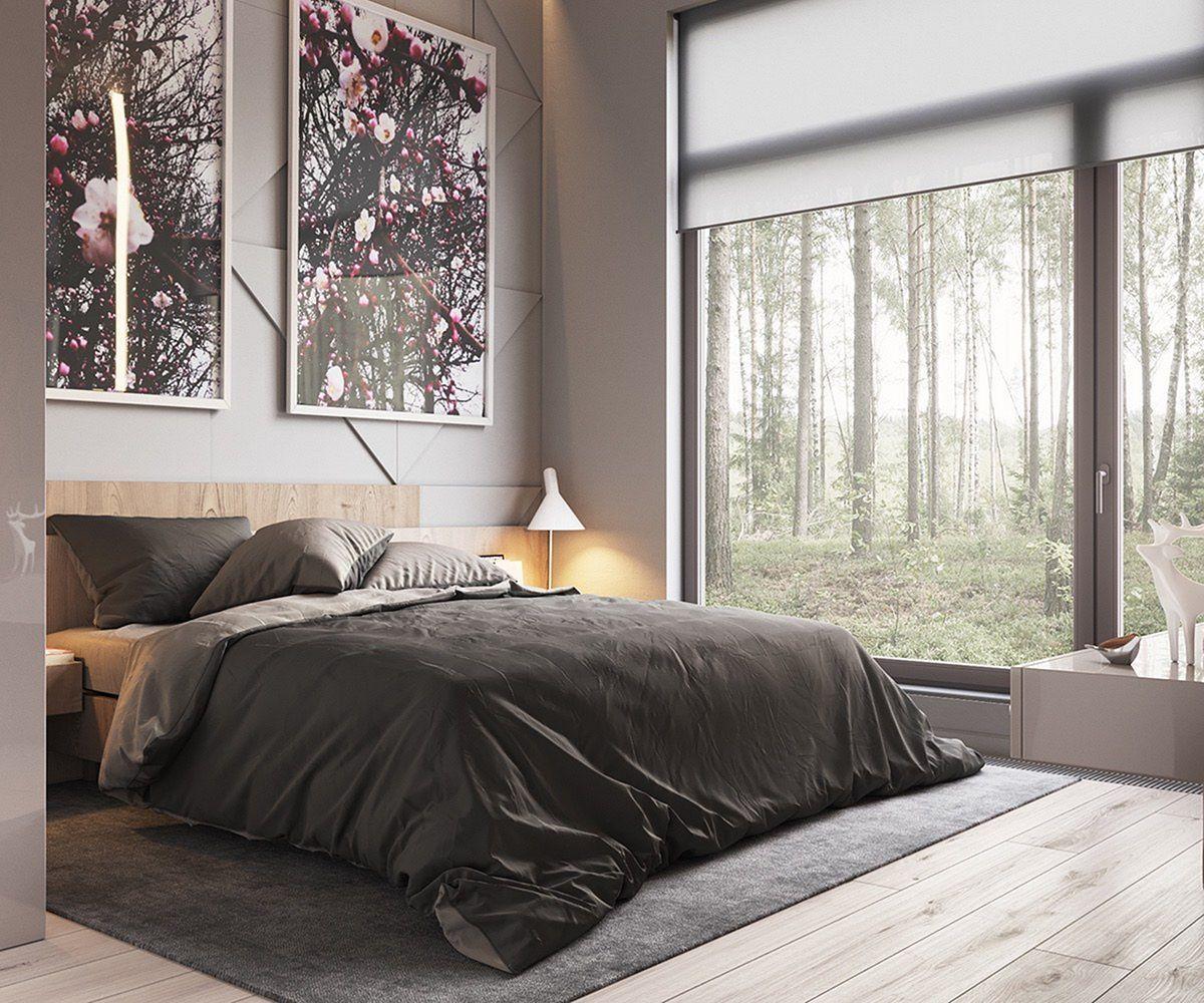 Marvelous 15+ Minimalist Modern Master Bedroom Design