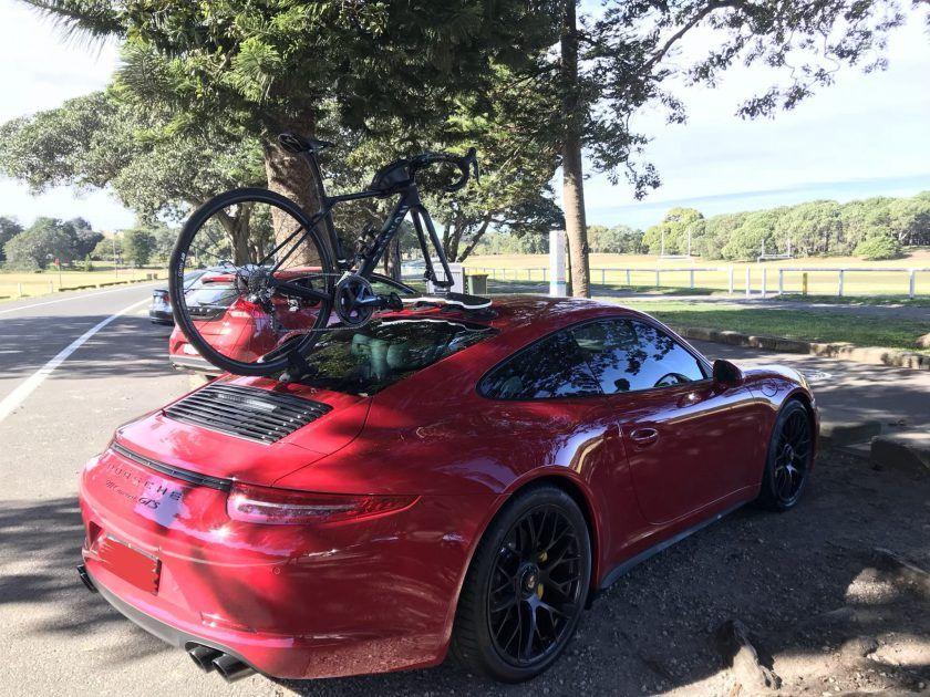 Porsche Carrera Gts Bike Rack Motocikl