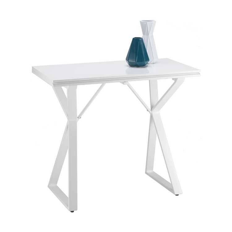Modern, Affordable White Console Table And Work Table   Bellevue Furniture  Store