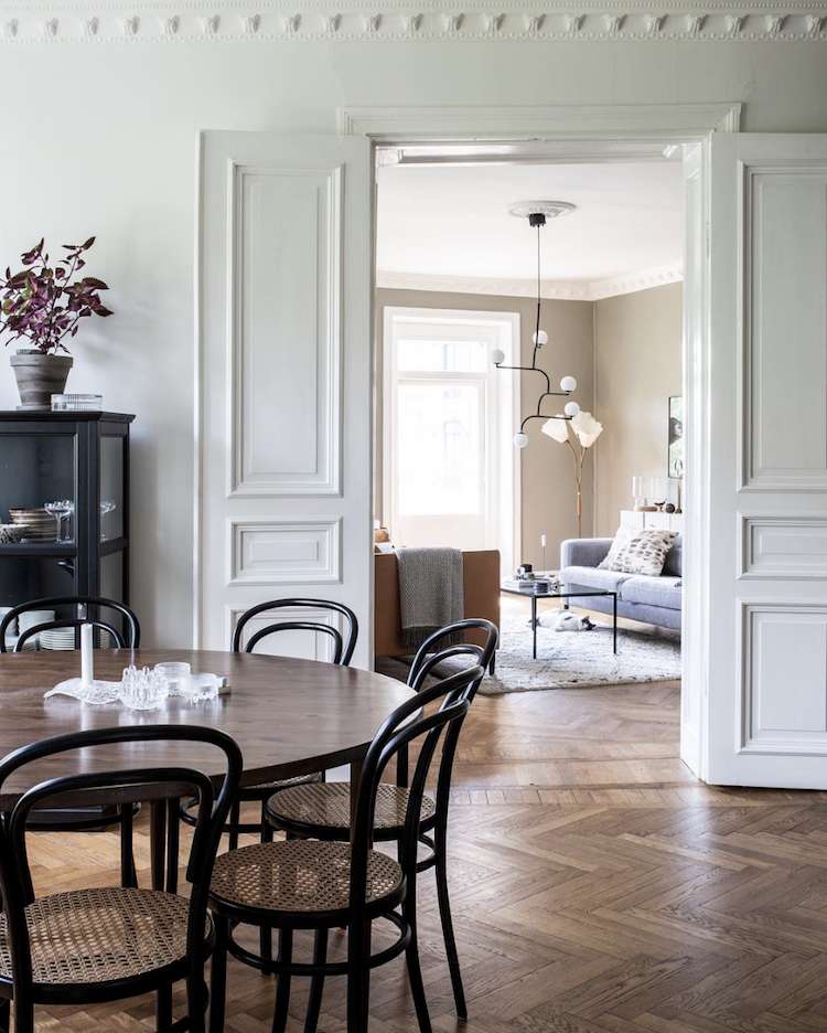 32 More Stunning Scandinavian Dining Rooms: My Scandinavian Home: The Beautiful Swedish Home Of A