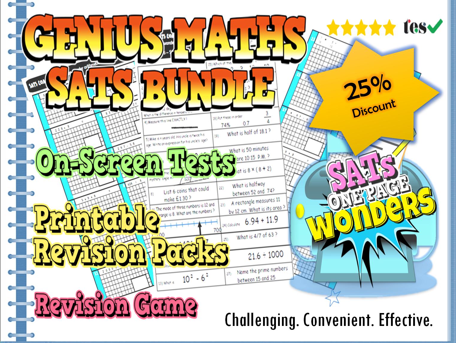 Sats Revision Bundle Ks2 Maths Ks2 Maths Sats And Math
