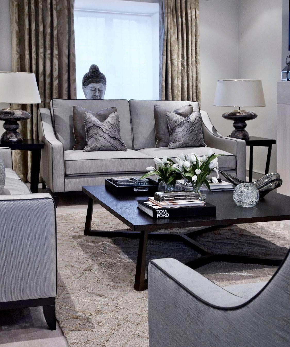 Grey Living Room Grey Sofa Classy Interior Design Transitional Living Room Cozy Living Room Lu Living Room Grey Luxury Living Room Luxury Living Room Decor #transitional #living #room #designs