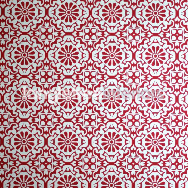 Daisy Wallpaper From Catalina Estrada 1280086 Red Kitchen Wallpaper Red Mosaic Wallpaper Daisy Wallpaper