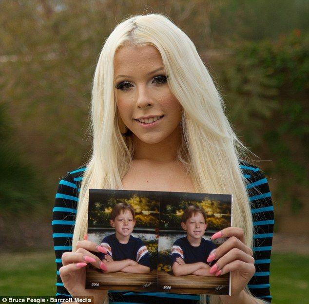 Transgender Teen Brittney Kade drømmer om at blive model-6630