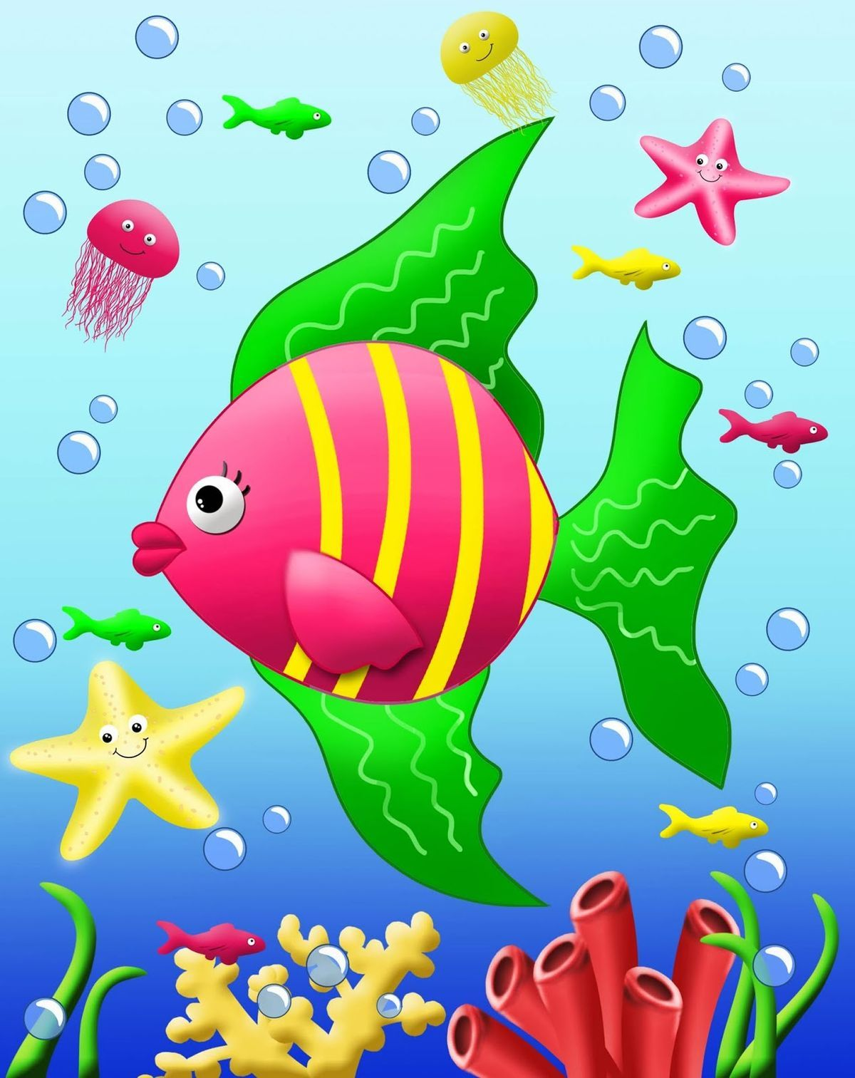 Ocean Safari‿ ⁀• Drawing for kids, Art for kids, Crafts