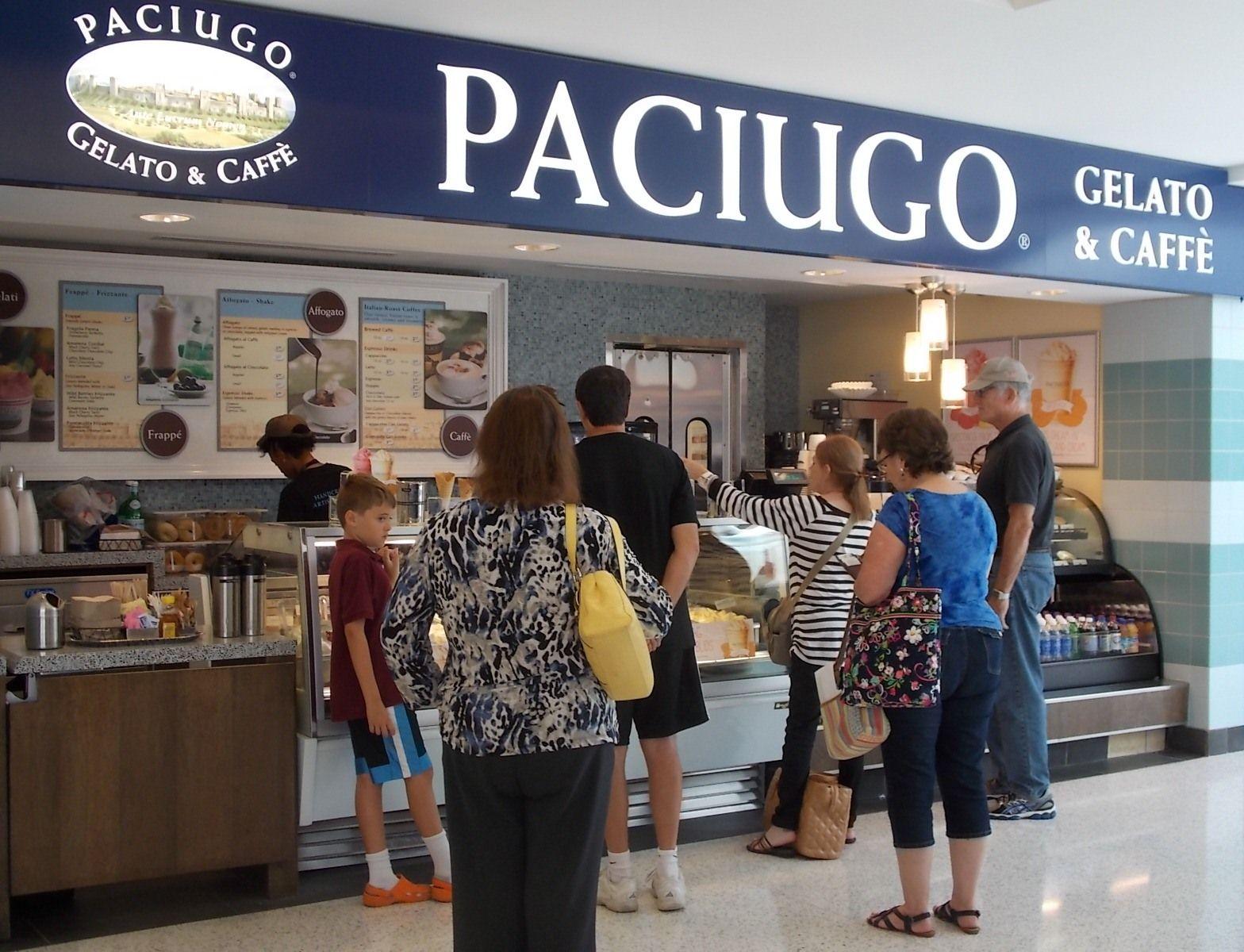 Paciugo Gelato & Caffè in Concourse C  #cleveland #airport #hopkins http://www.clevelandairport.com/