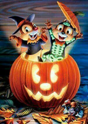 Pretty Halloween Cartoons Halloween Wallpaper Disney Wallpaper