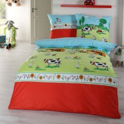 Kaeppel Kinderbettwäsche Bauernhof Kids Bedding Sets Kids