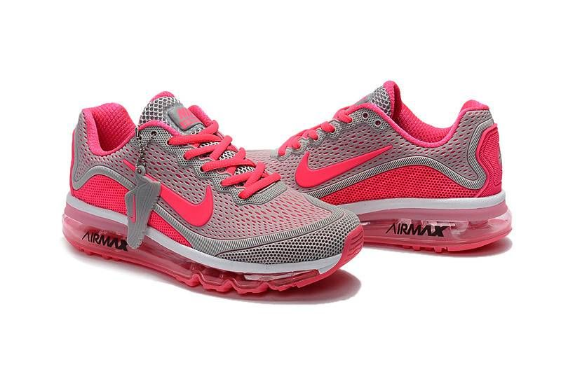 timeless design 77f85 ee694 New Coming Nike Air Max 2017 5Max KPU Women Pink Grey