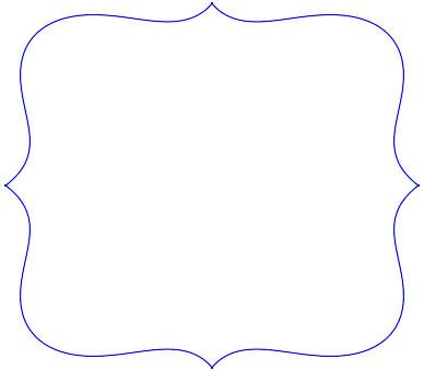 Scalloped Frames Templates Clipart - Free Clipart | Templates ...