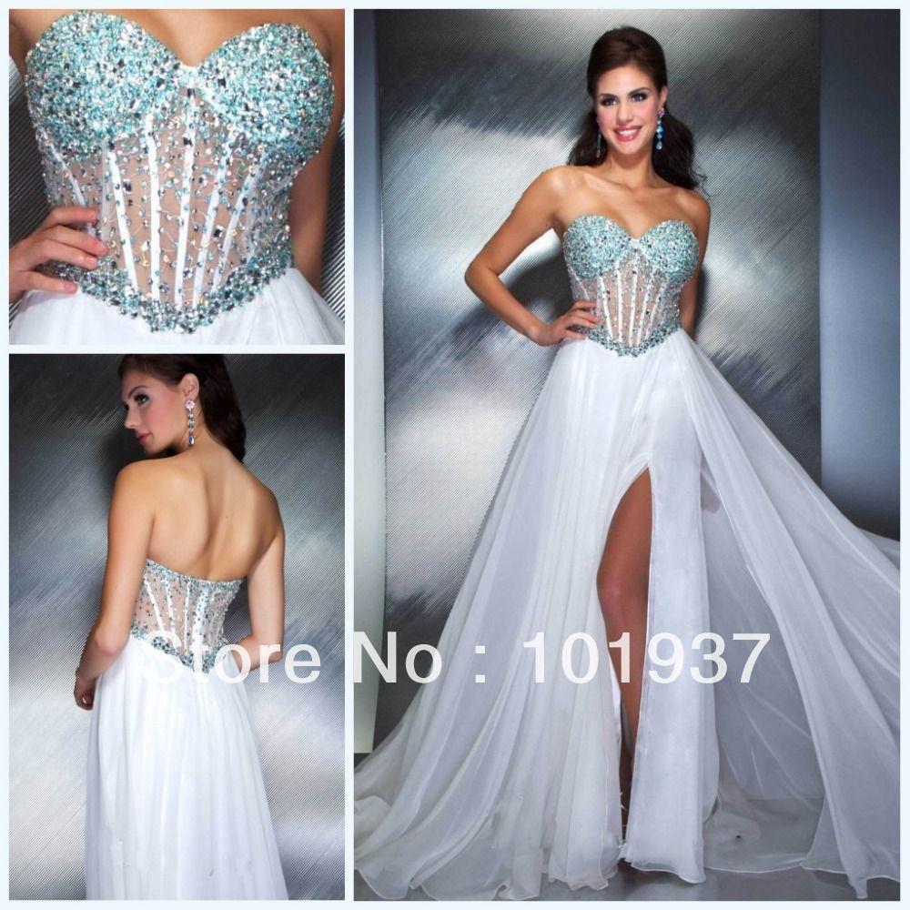 Bustier Prom Dress Long