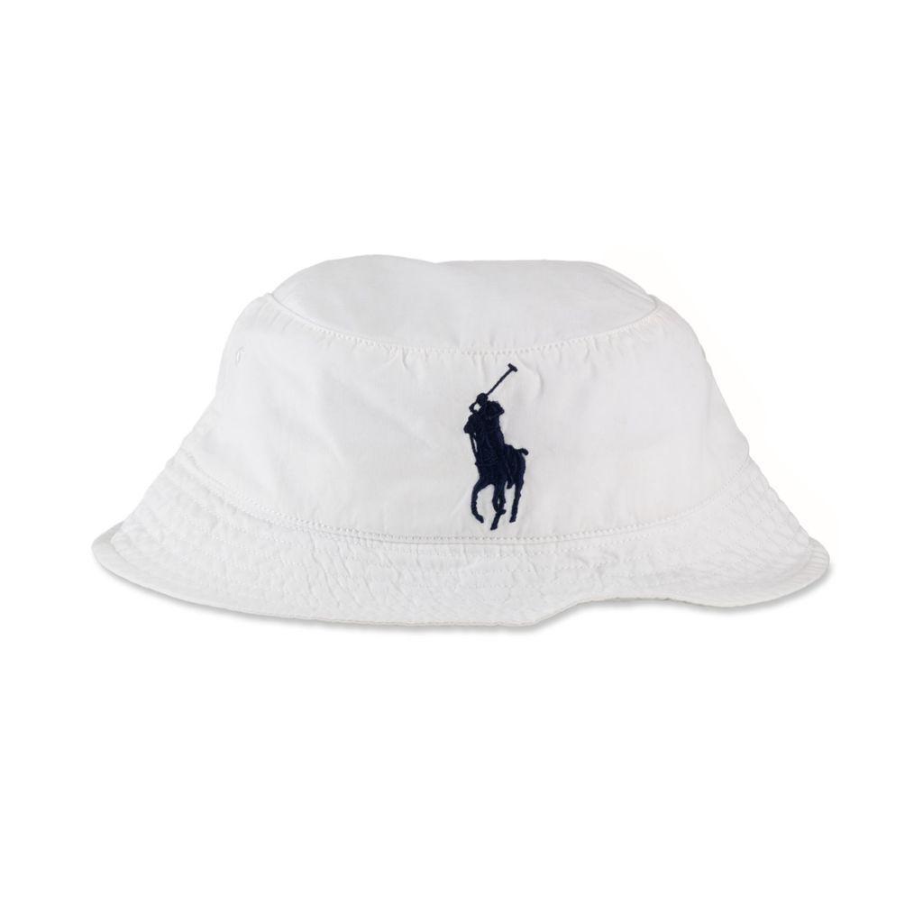 dffee6160f89d Ralph Lauren - White Bucket Hat