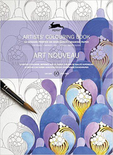Robot Check Coloring Book Art Coloring Books Art Nouveau