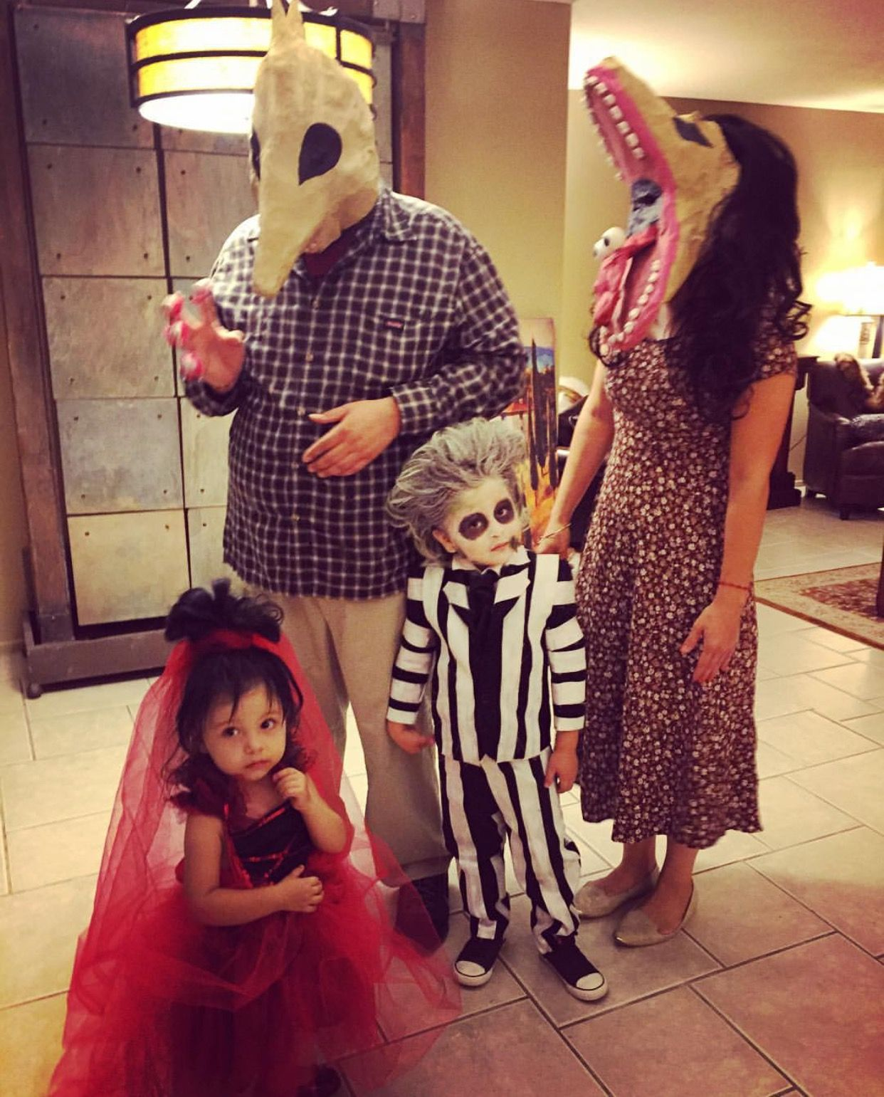 Beetlejuice Family Costume Family Halloween Costumes Beetlejuice Costume Family Costumes