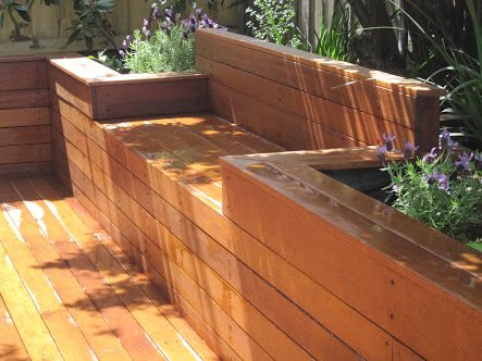 Retaining Wall Seat Landscaping Retaining Walls Deck