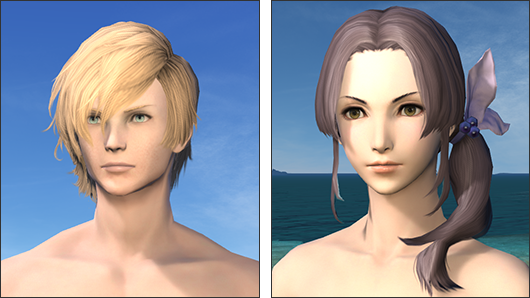 Ffxiv Gold Saucer Hairstyle Streetbass Hair Styles Role