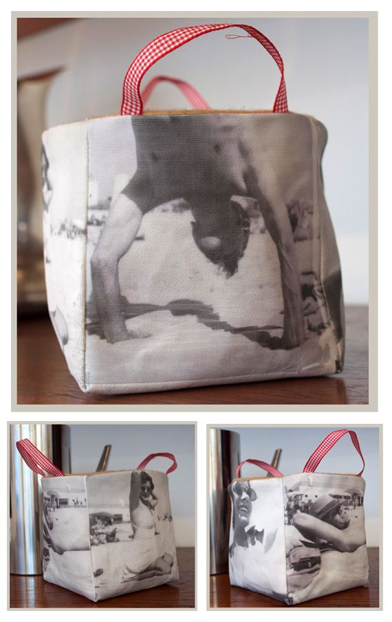 Beautiful bag/bucket by elke