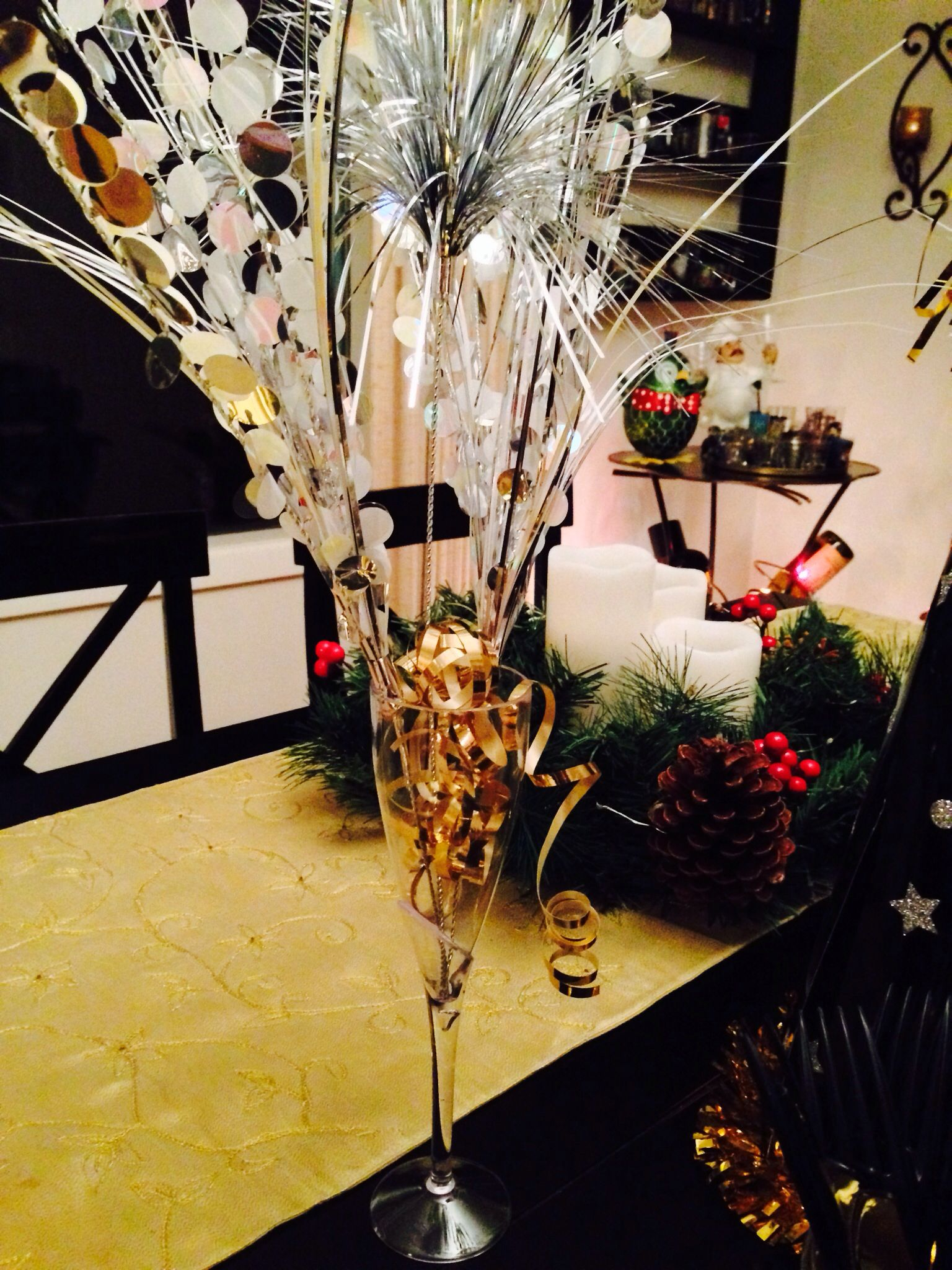 75 off christmas decor from fred meyer gold ribbon and a 050 champagne flute - Fred Meyer Christmas Eve Hours