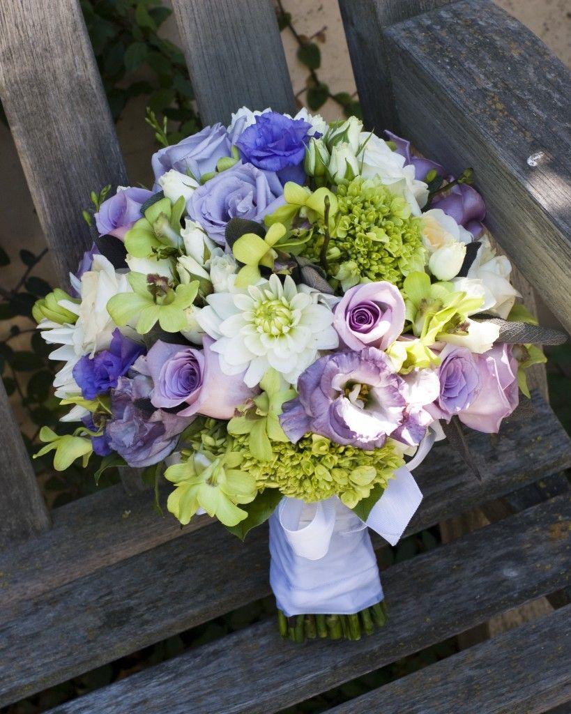 Sacramento Wedding Flowers Just A Few Pretty Bridal Bouquets Green Hydrangea Roses Lisianthus