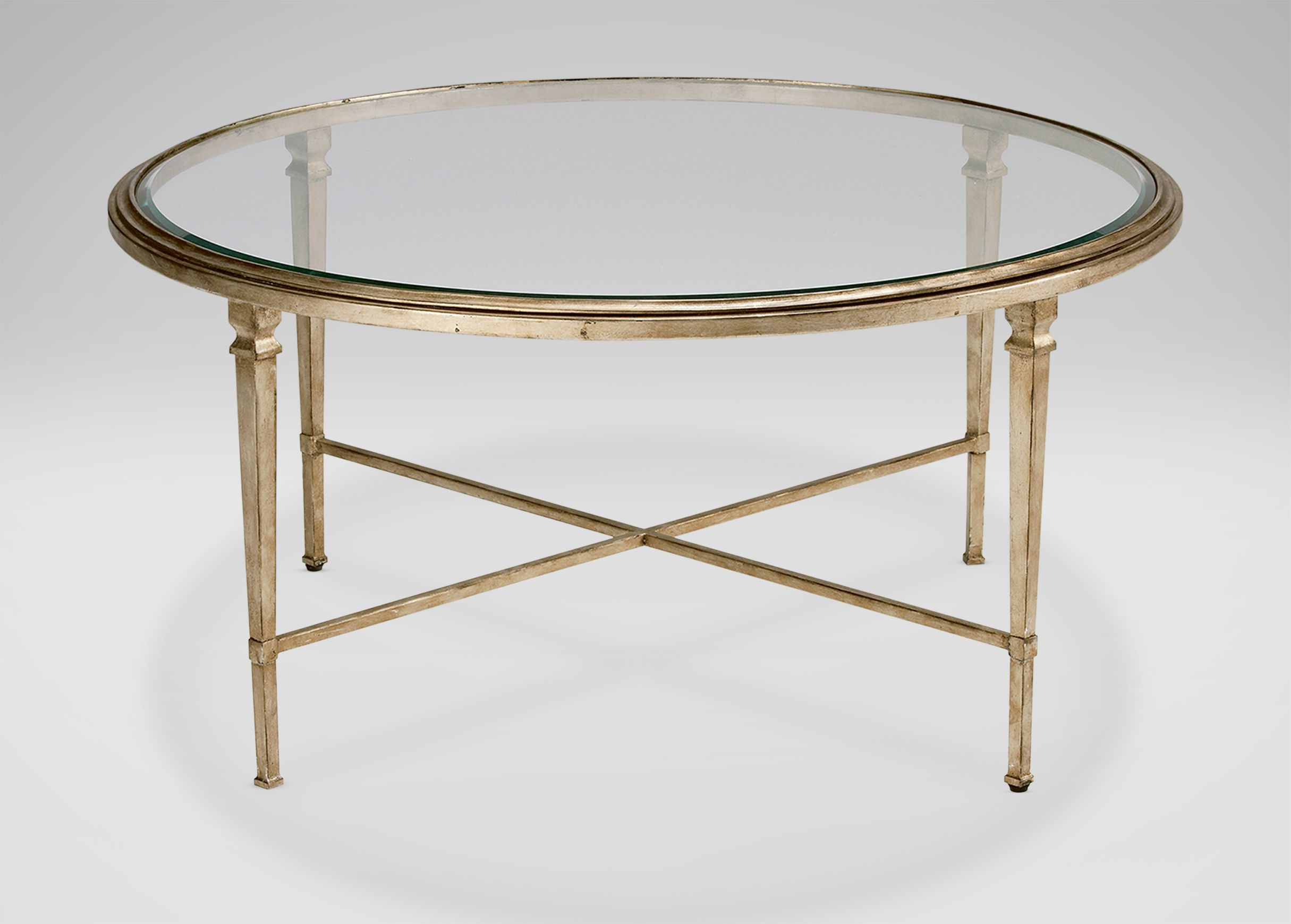 Heron Round Coffee Table Round Glass Coffee Table Antique