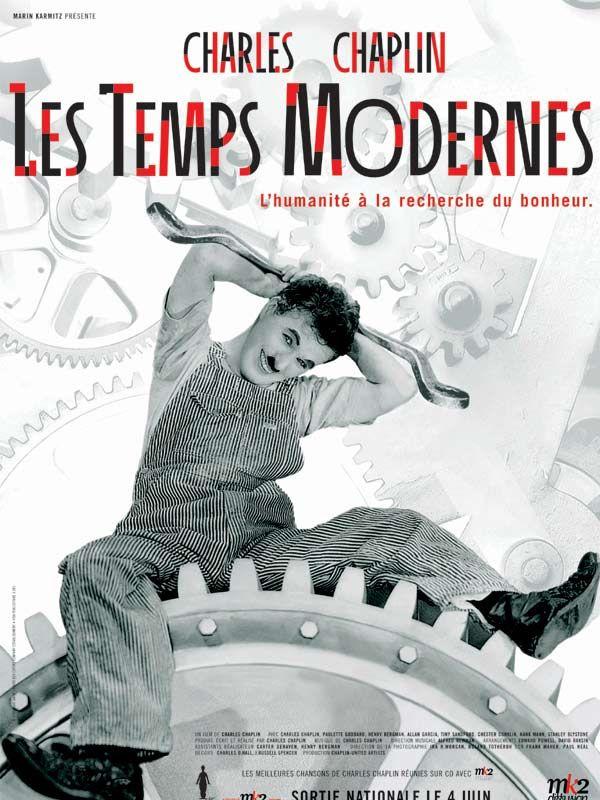 Les Temps Modernes Film Chaplin Film Movie