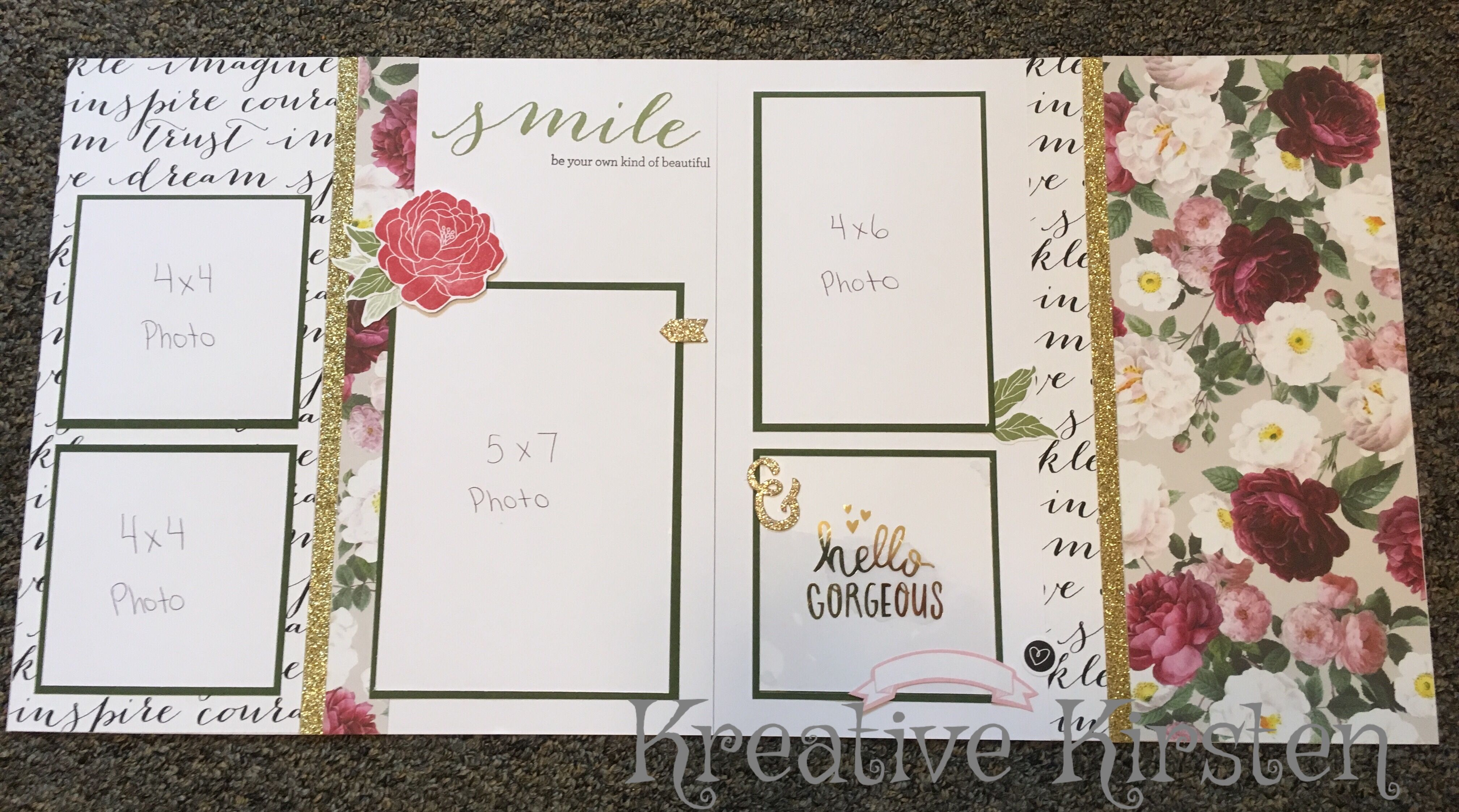 How to scrapbook a wedding invitation - Cards