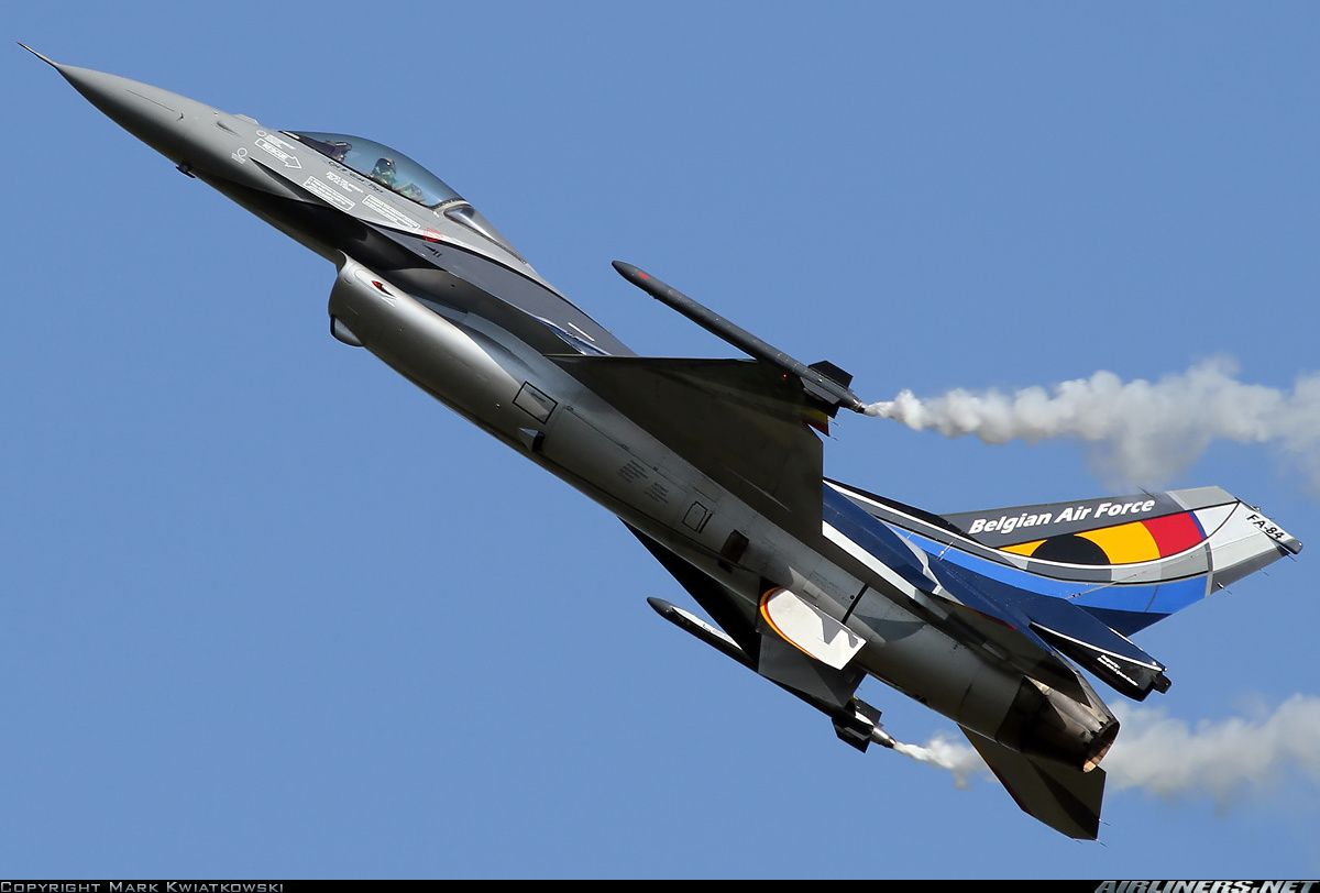 General Dynamics (SABCA) F-16AM Fighting Falcon (401) aircraft picture